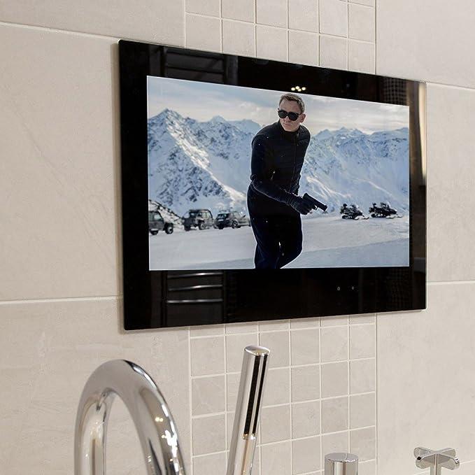Smart TV impermeable de 24 pulgadas de baño Smart TV: Amazon.es: Electrónica