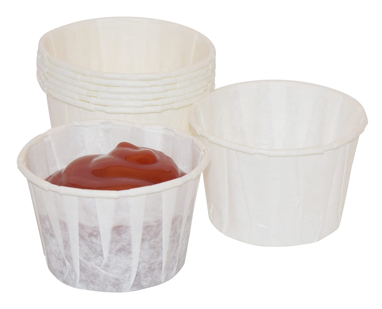 2 oz, Paper Souffle Portion Cups - Value set of 500