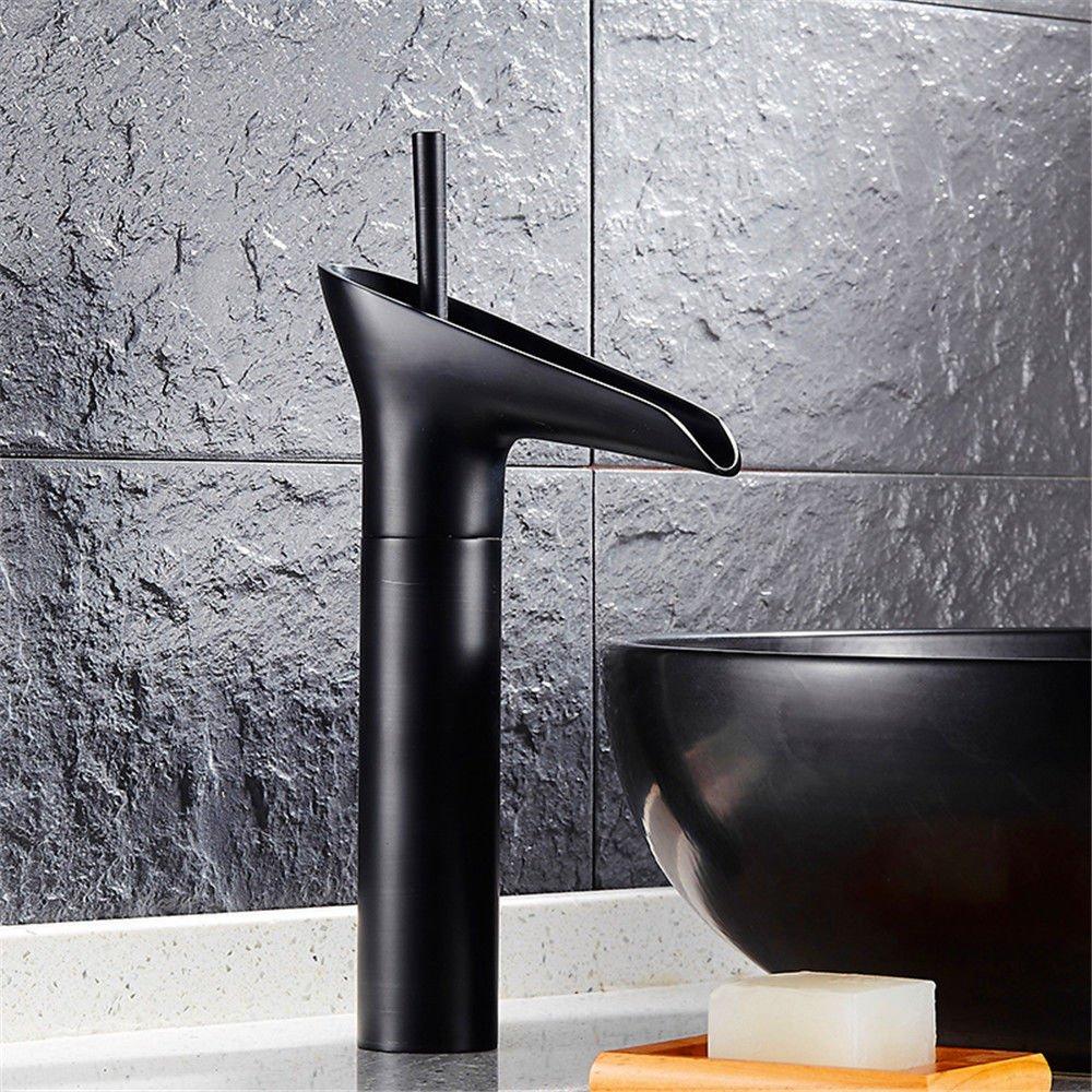 Gyps Faucet Single Lever Washbasin Mixer Tap Black Cold Tap Antique Black Plus High Surface Wash Basin Antique Tap J