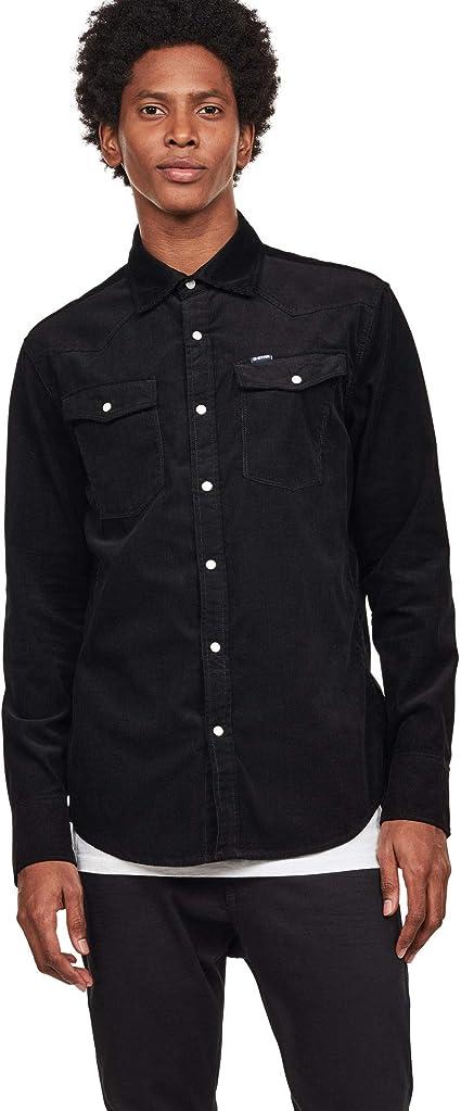 TALLA XS. G-STAR RAW 3301 Slim Shirt LS Sudadera para Hombre
