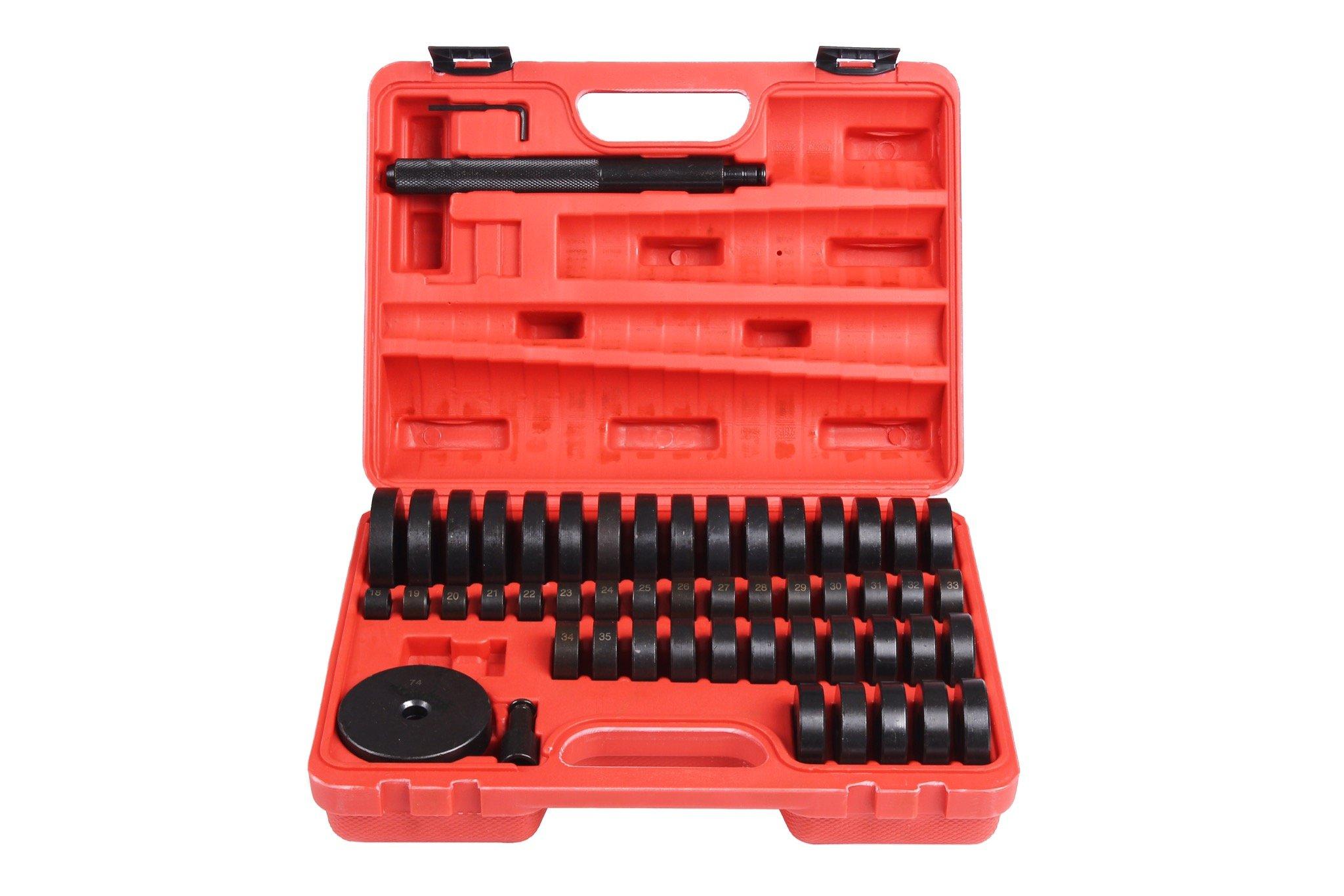 Shankly 50 Piece Seal Drive Set, Bushing Removal Tool, Bushing Driver Set