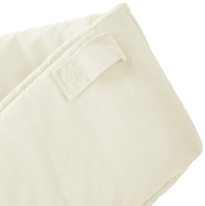 Babykidsbargains Safety Cradle Bumper Black Poly//Cotton 18 x 36