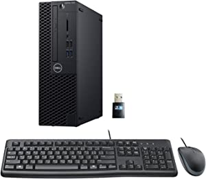 Dell Optiplex 3060 SFF Desktop PC Bundle with Keyboard, Mouse, Intel i5-8500 3.0GHz 6 Core, 16GB DDR4, 500GB NVMe SSD, WiFi, Win 10 Pro