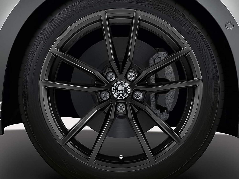 SkinoEu 4 x 65mm Tapas de Rueda de Centro Centrales Llantas Aluminio Compatibles con Tapacubos VW N/úmero de Pieza 3B7601171 6U7601171 Negro Rojo Carb/ón CV 13