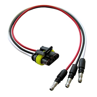 Optronics 00212757P LED Marker/Clearance Light Tight Plug, Wire: Automotive