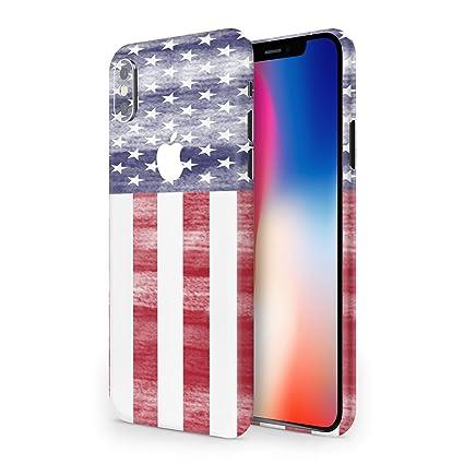 COBALT Skins   iphone X 3M Skin Vinyl Wrap   Protective Iphone 10 Skins  (American Flag)