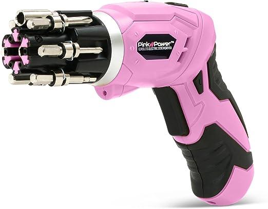 Amazon.com: Pink Power, taladro eléctrico de 4,8 Volt ...