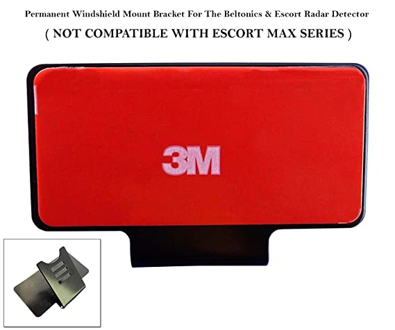 Review Noa Store NEW Escort Permanent Windshield Mount For The Beltronics/Escort Radar Detector