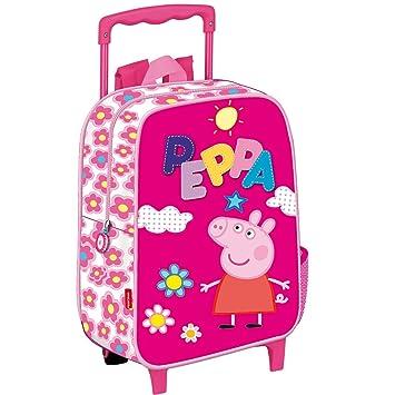 Peppa Pig - Mochila infantil con ruedas (Montichelvo 30649)