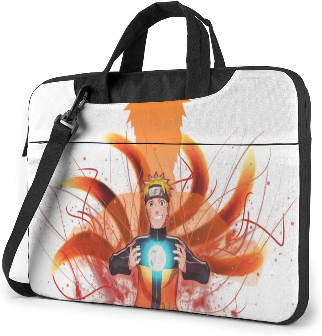 15.6 inch Laptop Sleeve Bag, Naruto Tablet Briefcase Ultra Portable Protective Shoulder Shockproof Laptop Sleeve Case Bag Cover MacBook Pro/MacBook Air/Notebook Computer