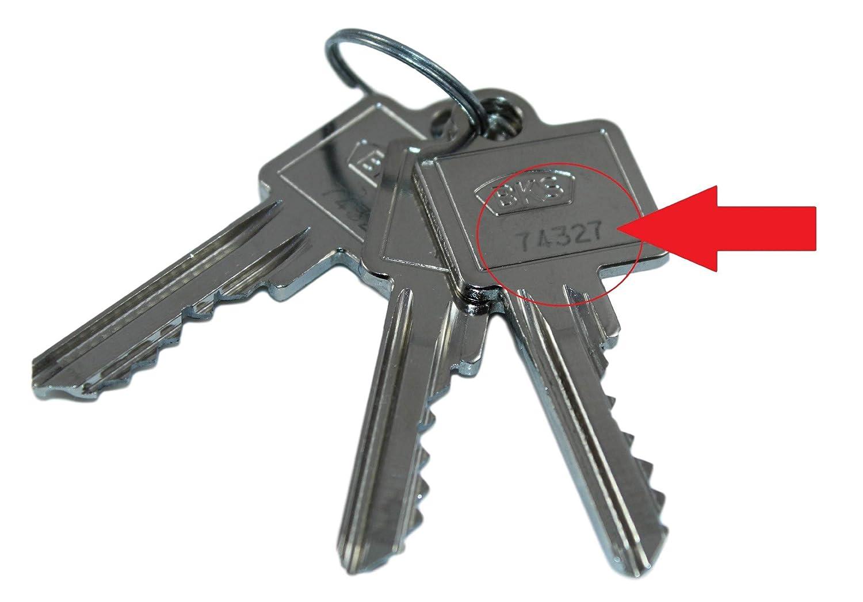 Häufig BKS Nachschlüssel | Ersatzschlüssel nach Code für vorhandene BKS BP58