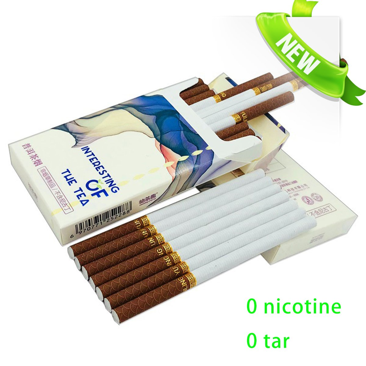 Special Cigarettes - No Nicotine and Tar - Use Herbs(Tea Tea silk Cigarettes) - Instead of Real Cigarettes-20PCS IN ONE BOX (10 BOX(200Pcs))