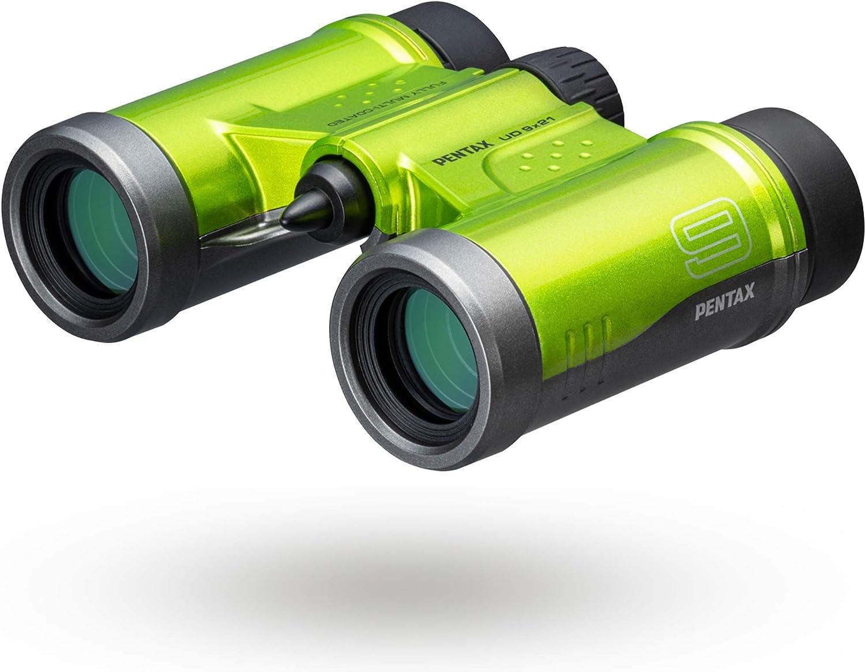 Pentax Ud 9x21 Fernglas Grün Kamera