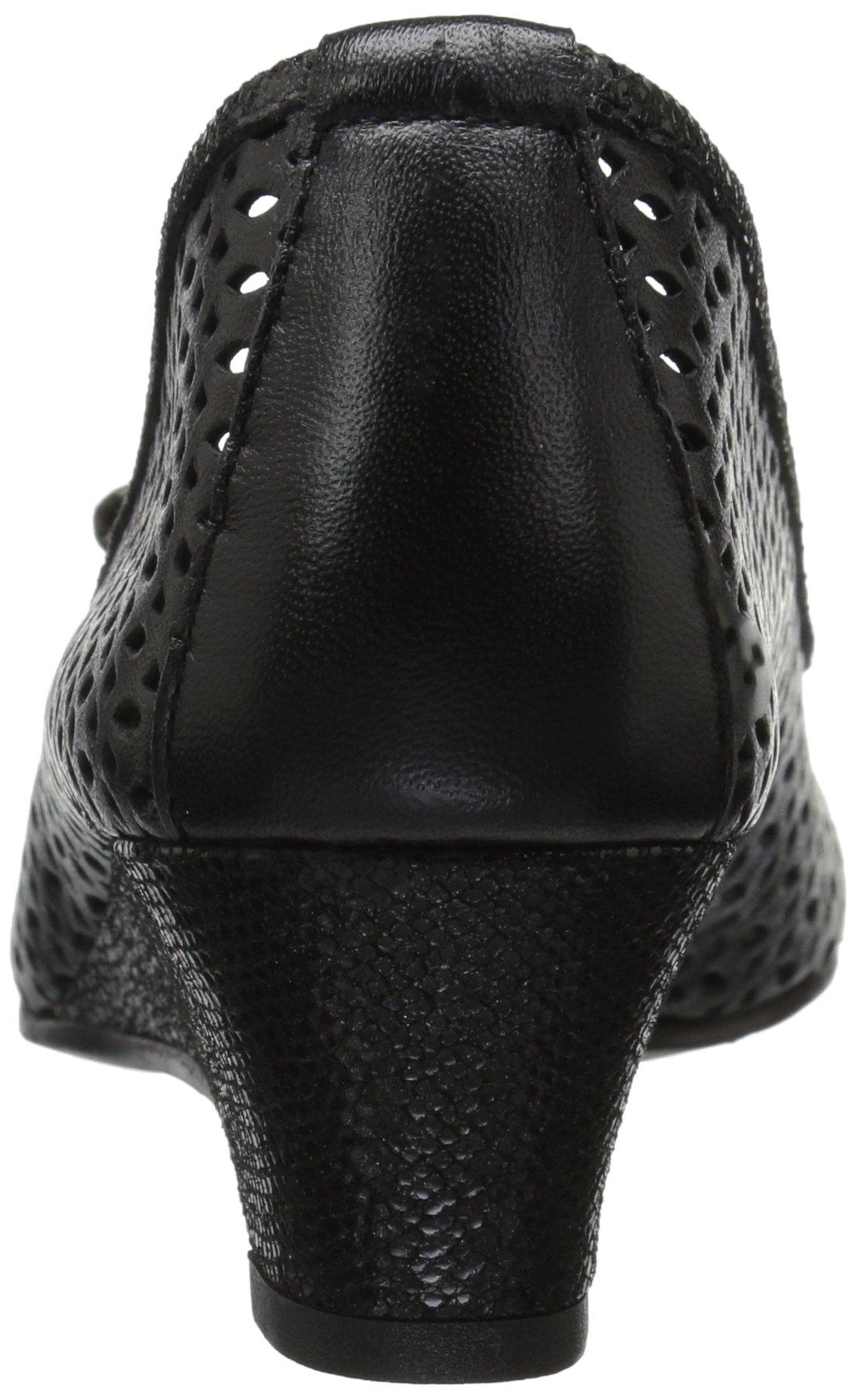 VANELi Women's Brinly Wedge Sandal, Black Perfed Nappa/Black Summer VIP, 9.5 N US by VANELi (Image #2)