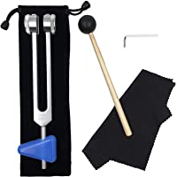 OM 136.1 Hz Tuning Fork - Chakra Tuning Energy Forks Effective for Immune System and Circulation, Meditation, Yoga…