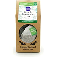 Simply Natural Organic Peppermint Tea, 16-count