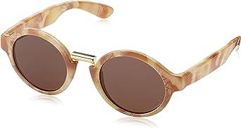 MR, Marble hackney with classical lenses - Gafas De Sol unisex color beige, talla única