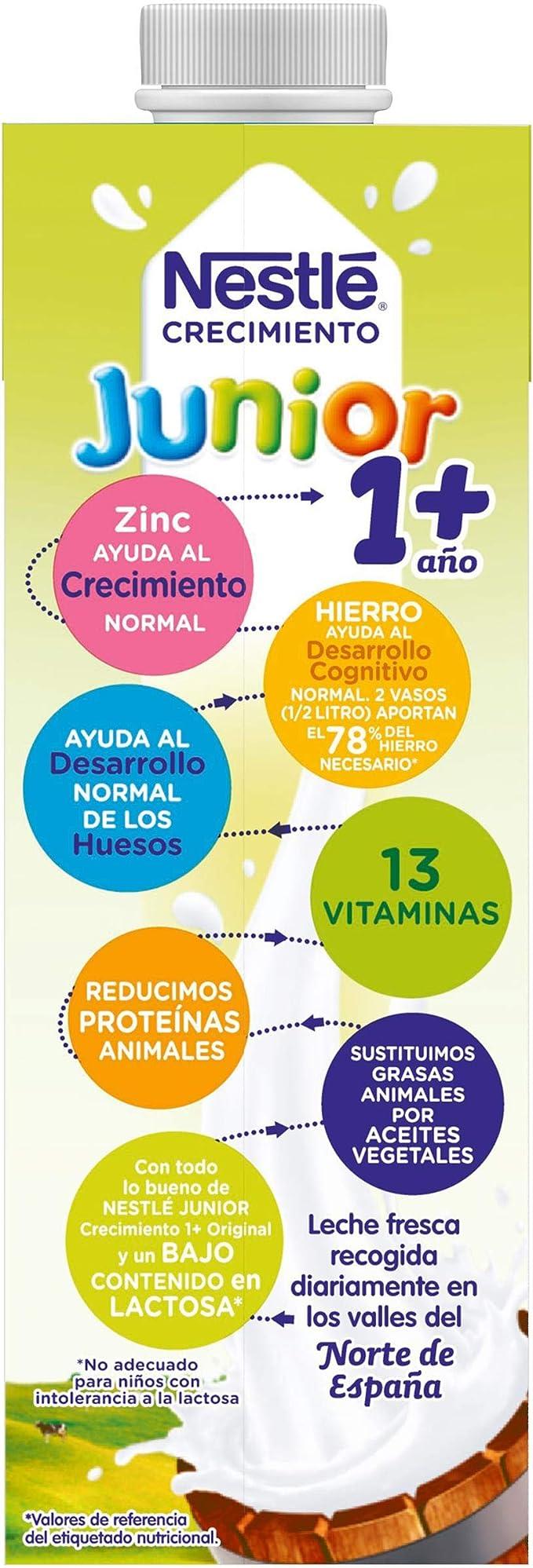 Nestlé Junior 1+ Leche para niños a partir de 1 año - leche ...