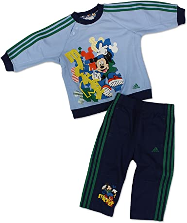adidas – Chándal Baby Boys Mickey Mouse (Azul): Amazon.es: Ropa y ...
