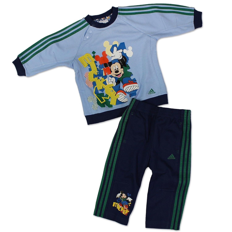 adidas - Chándal Baby Boys Mickey Mouse (Azul): Amazon.es: Ropa y ...