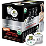SOLLO KETOgenic Proof Dark Coffee Pods, KETO & Paleo Diet, 0 g CARBS - Supports Weight Loss, Metabolism Functions and…