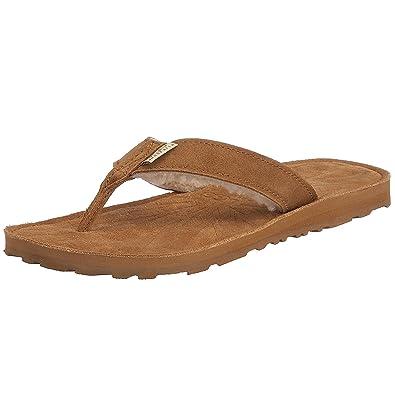 UGG Women's Tasmina Flip Flop, Chestnut,