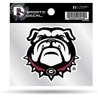Rico Tag Express Georgia Bulldogs UGA Logo 3 x 4 Inch Perfect Cut Decal