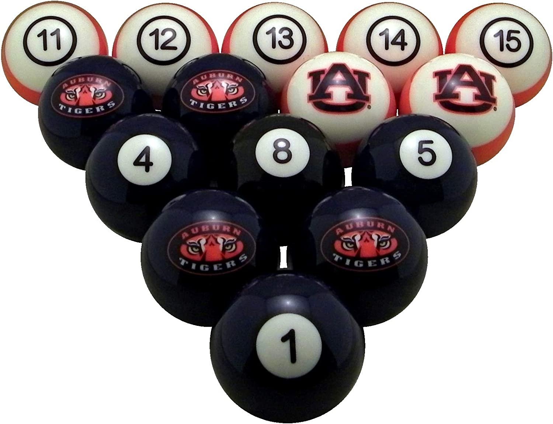 WAVE 7 tecnologías Auburn Tigers – Juego de Bolas de Billar numerados: Amazon.es: Deportes y aire libre