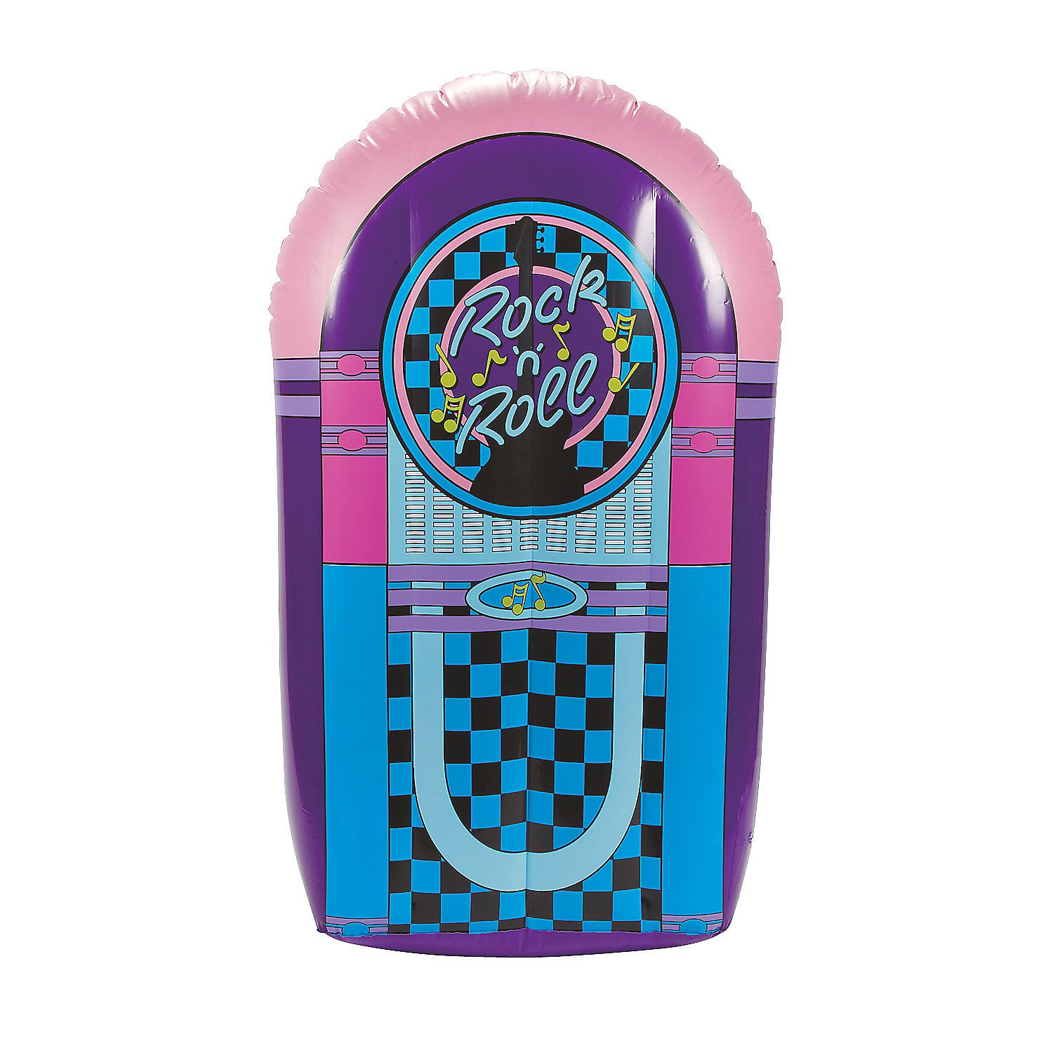 Fun Express - Juke Box Inflate for Party - Toys - Inflates - Inflatable Decor - Party - 1 Piece by Fun Express