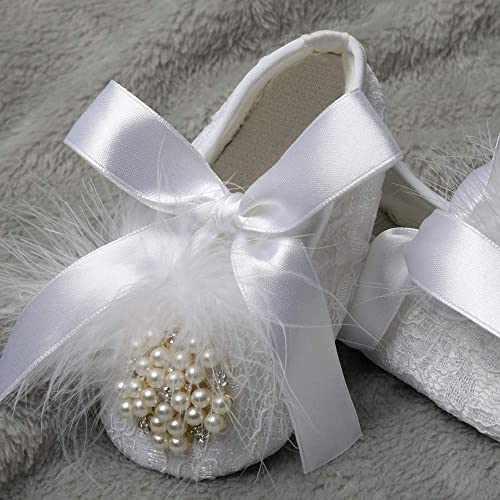 Amazon.com: Dollbling Handmade White Baby Girls Baptism ...