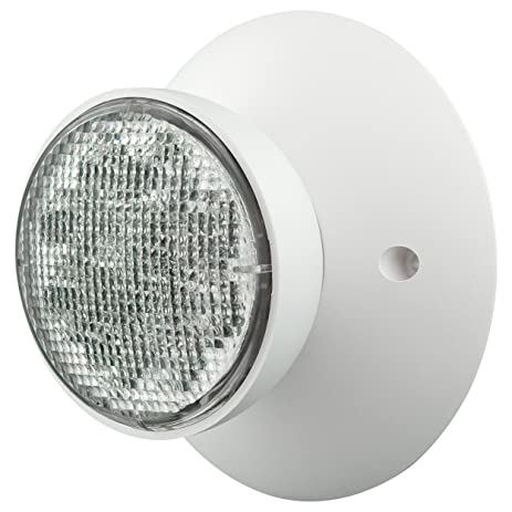 Compass CIRS Hubbell Lighting LED 2 Head Emergency Light  sc 1 st  Amazon.com : hubbell lighting led - azcodes.com