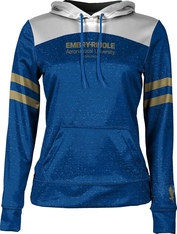 Game Time Embry-Riddle Aeronautical University Worldwide Womens Pullover Hoodie School Spirit Sweatshirt