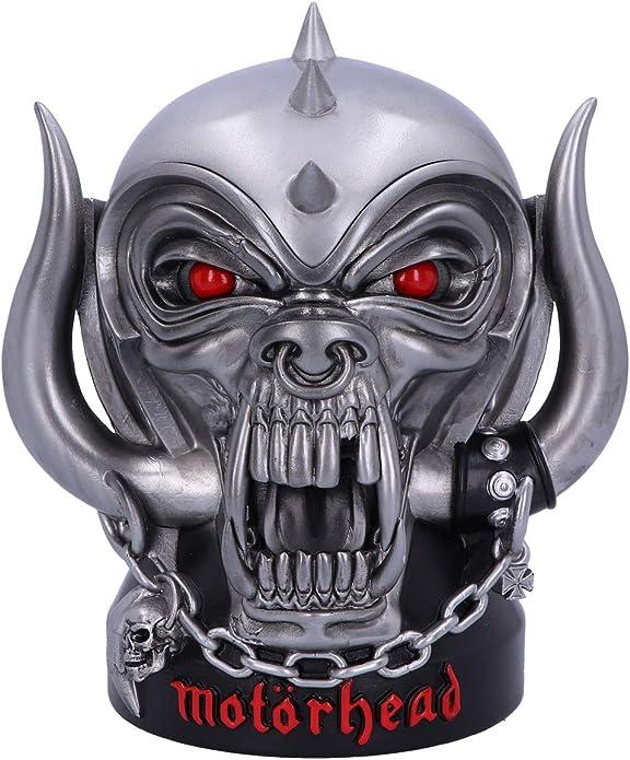Motorhead Bookends Ace of Spades Warpig Snaggletooth Grey
