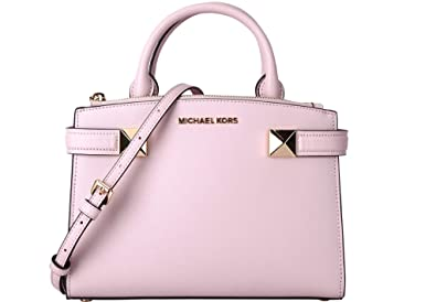 d371571757af8 Michael Kors Karla SM Satchel Leather Blossom (34T8GKGS1L)  Amazon ...
