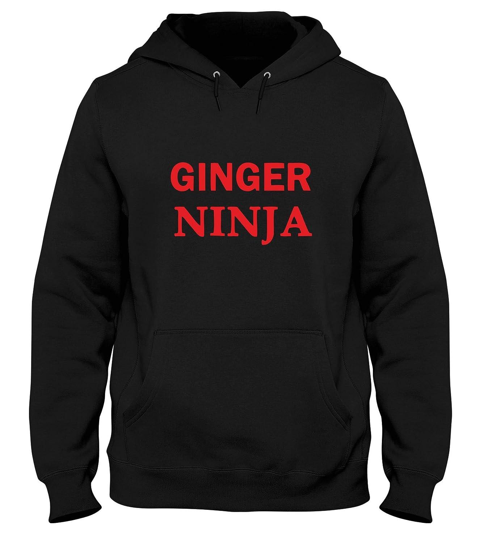 Speed Shirt Sudadera con Capucha Hombre Negro TR0053 Ginger ...
