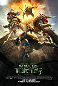 TEENAGE MUTANT NINJA TURTLES MOVIE POSTER 2 Sided ORIGINAL INTL FINAL 27x40