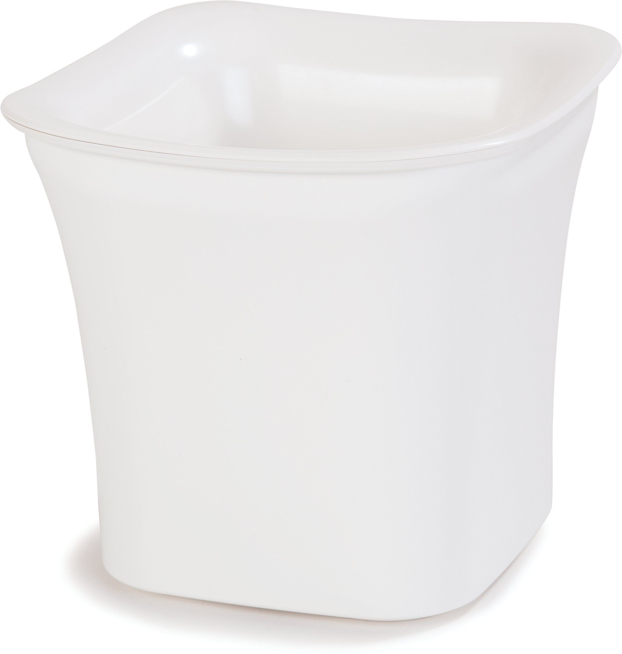 Carlisle CM140102 Coldmaster Insulated Square Serving Crock Only , 2 Quart, White