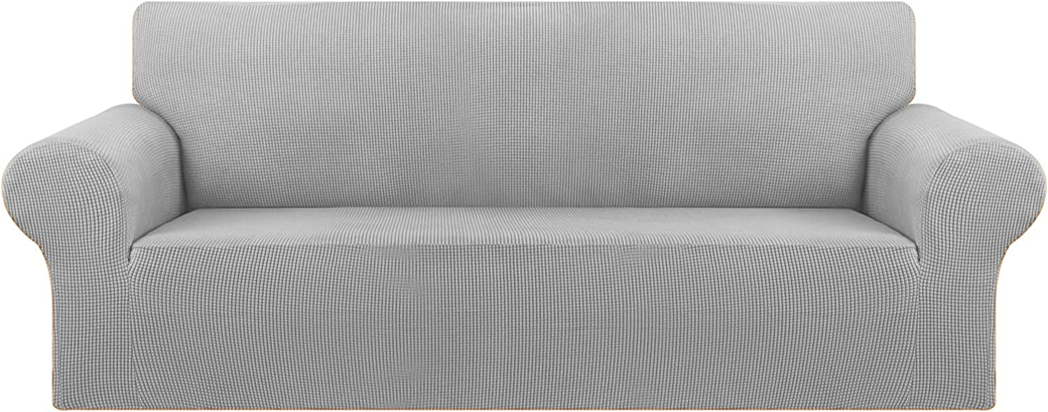 KEKUOU Stretch Oversized Sofa Slipcover 1 Piece Couch Sofa Cover (94