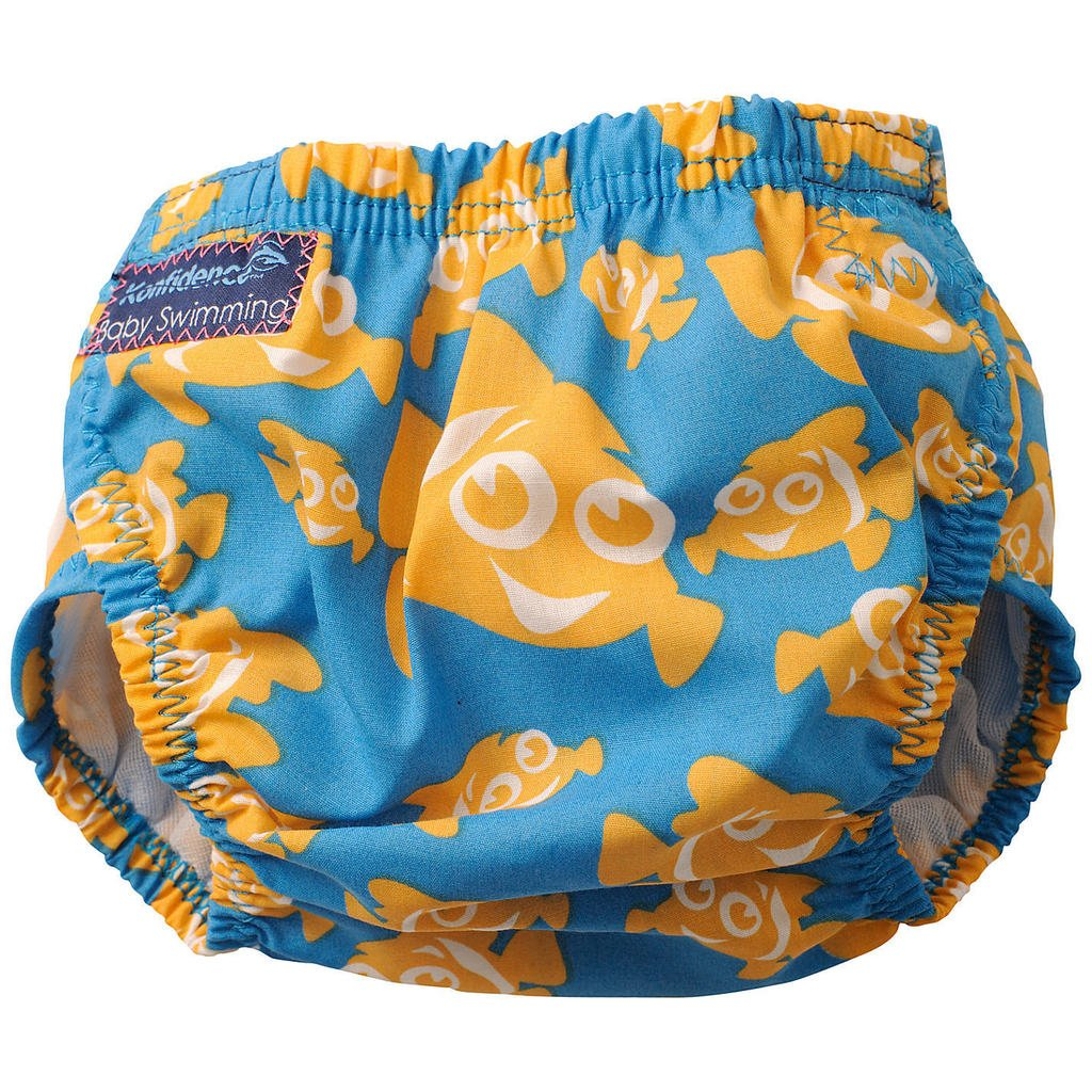 Konfidence Swim Nappy - one size - adjustable / reusable - Clownfish Konfi-store 5I-CB7T-ZN3M
