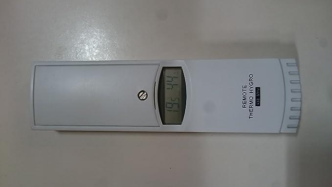 TFA 303125 - Sensor para termómetros inalámbricos (433 Mhz): Amazon.es: Jardín