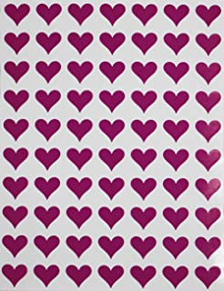 260 x Heart Hand Crafting MINI PERSONALISED Self Adhesive Labels