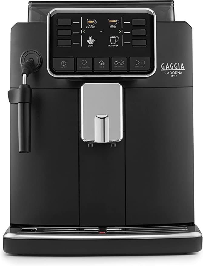 Gaggia Cadorna Style RI9600/01 - Cafetera automática para espresso y capuchino, café en grano o molido: Amazon.es: Hogar
