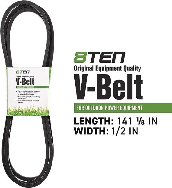 0.62 Width 147 Length D/&D PowerDrive 188834K Case Ih Replacement Belt