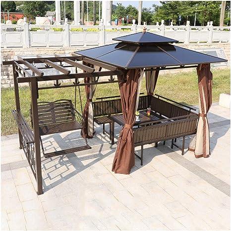 Gazebo de muebles de jardín Gazebos for patios, Patio Villa ...