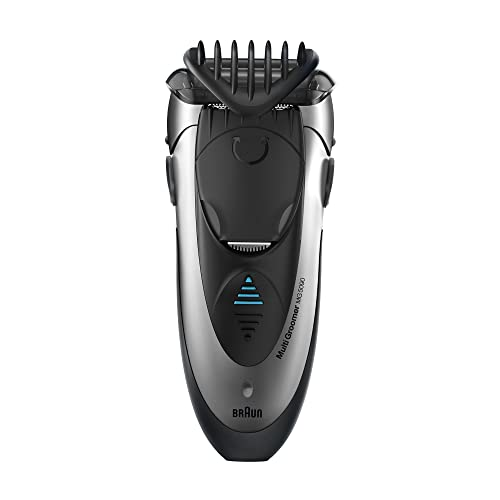 Braun MG5090 Tondeuse Multifonction Barbe et Cheveux avec Technologie Wet&Dry