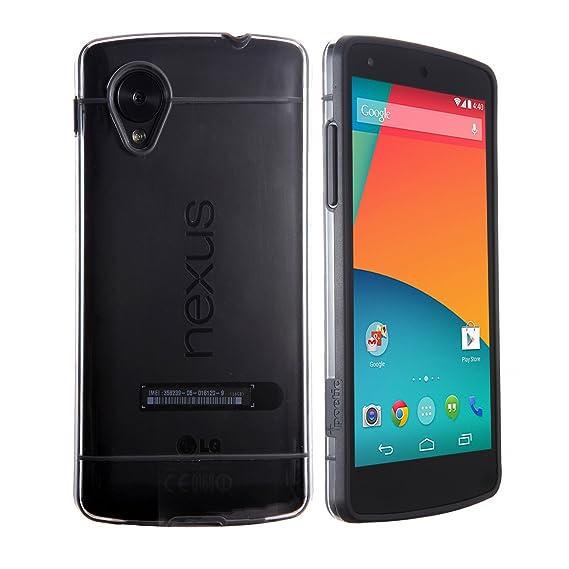 cheap for discount 906df 8d780 Google Nexus 5 Case - Poetic Google Nexus 5 Case [Atmosphere Series] -  [Lightweight] [Slim-Fit] Slim-Fit Tranparent Hybrid Case for Google Nexus 5  ...
