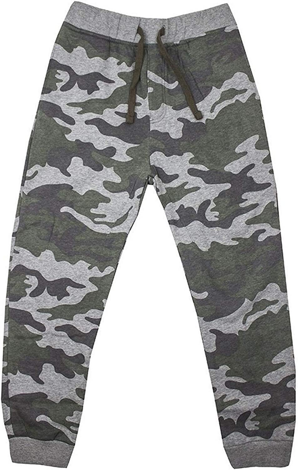 New Boy/'s Kid/'s Cotton Ribbed Cuff Grey Tracksuit Bottoms Sports Gym Joggers