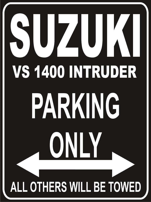 INDIGOS UG - Parkplatz - Parking Only Suzuki 1400 Intruder - Parkplatzschild