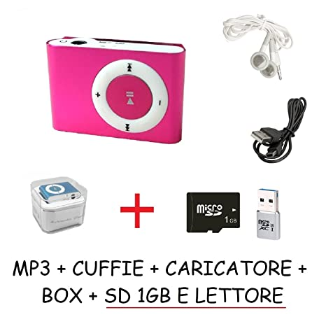 oferta. Mini reproductor de MP3 Tipo iPod Fucsia memoria ...