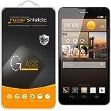 [2-Pack] Huawei Ascend Mate 2 Tempered Glass Screen Protector, Supershieldz Anti-Scratch, Anti-Fingerprint, Bubble Free [ Lifetime Warranty]